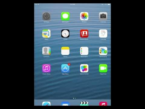 iPad restrictions video