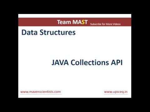 Java Collections API Overview | Team MAST