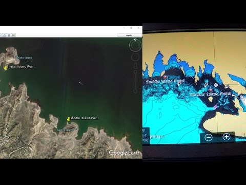 Convert Google Earth Placemarks to Lowrance Waypoints