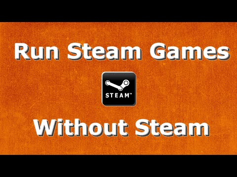 How to run steam games without running steam