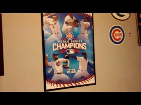 Cubs 2016 World Series Poster