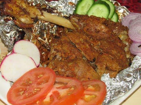 mutton leg or raan roast