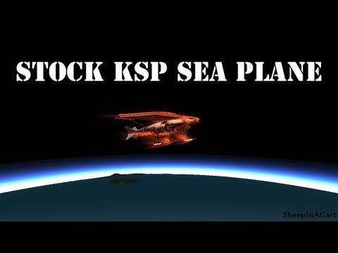 KSP Stock Supersonic Sea Plane