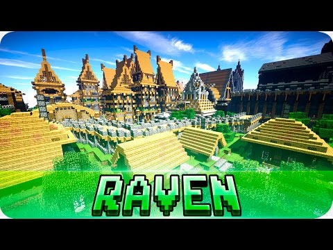Minecraft - RavenRock Town - Medieval City with Download