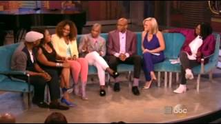 Kirk Franklin, Donnie McClurkin & Yolanda Adams on The View - 8/11/2014