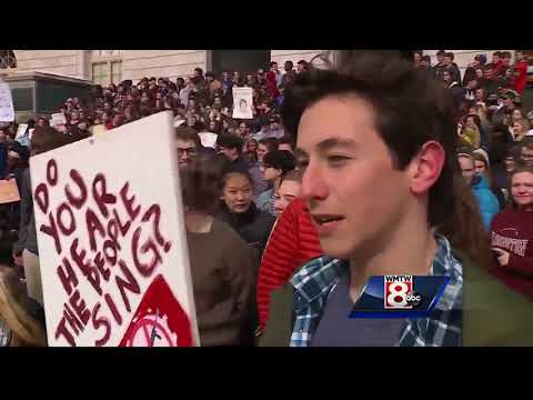 Portland students, teachers march to protest gun violence