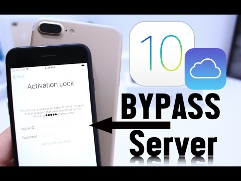 iCloud Activation Lock Bypass iOS 10 /10.2 /10.3 iPhone