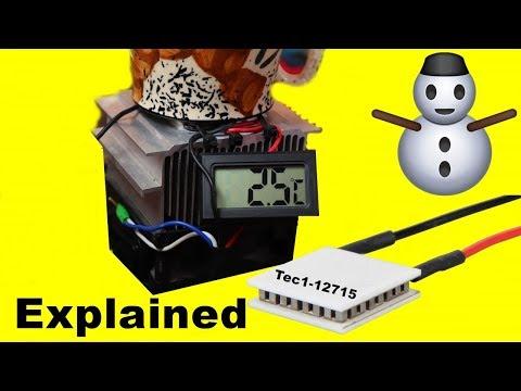 Mini Fridge With Peltier Modules  | Peltier Cooler Machine | How Peltier Cool any thing like Fridge