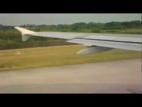 TAP Air Portugal A319 Takeoff from Manchester to Lisbon