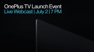 OnePlus TV Launch Event