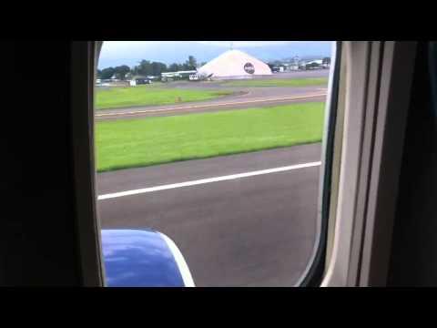 Landing at SJO