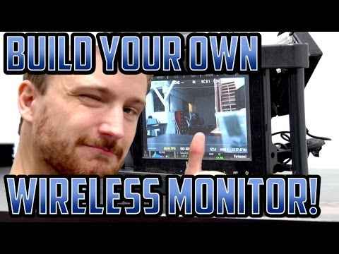 Build Your Own Wireless Monitor