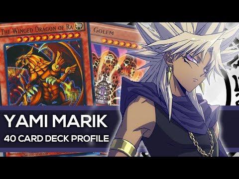 Yami Marik Deck Profile - YU-GI-OH! Character Decks