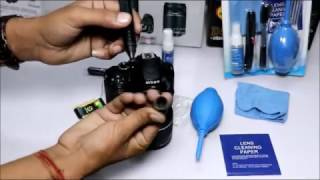 How to clean DSLR camera in hindi  2017
