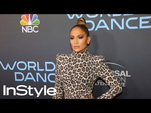 Jennifer Lopez's Sleek Top Knot Hair Tutorial | InStyle