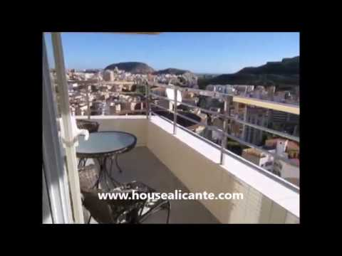 Apartment vue mer Alicante centre