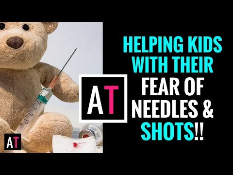 Helping Kids with Their Fear of Needles & Shots