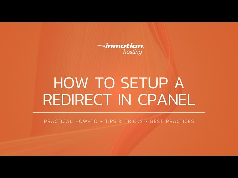 How to Setup a Redirect in cPanel (Paper Lantern)