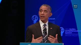 President Obama Participates in a Discussion with Mark Zuckerberg and Entrepreneurs