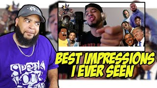Not Donald Trump - Hit Rap Songs in Voice Impressions!   SICKO MODE, Mo Bamba, Bleed it