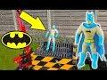 Batman Versus SHREDDING MACHINE Stretch Armstrong Lookalike