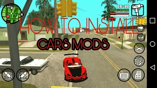 HOW TO]INSTALL CAR MODS IN GTA SA ANDROID[EASY METHOD] #RGS - PakVim
