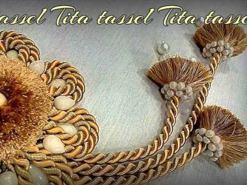 tassel curtain accessories