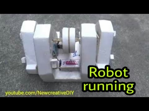 how to make a simple robot can move very fast and beautiful [newcd]