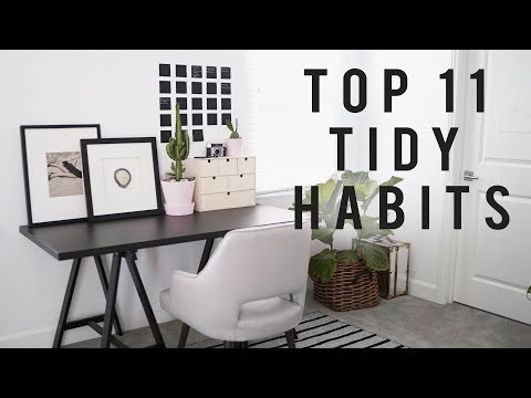 11 TIDY HABITS for Back to School + Your Home Office | ANN LE