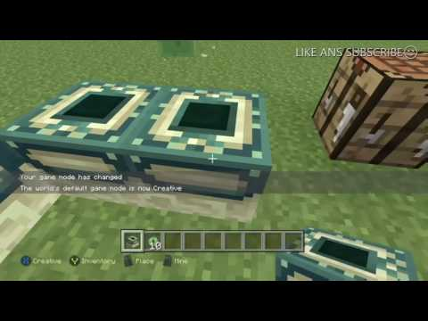 HOW TO MAKE THE END PORTAL IN MINECRAFT (XBOXONE)