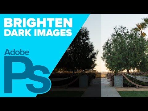 How to Brighten up Dark Images in Photoshop