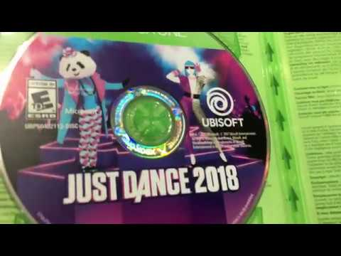 Just Dance 2018 - Xbox One Game unboxing