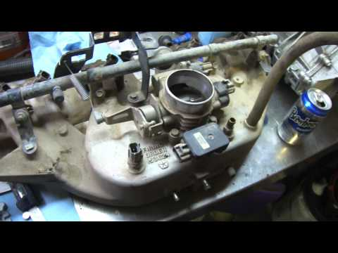 Install of a 63mm throttle body on a Jeep Tj 4.0l Engine