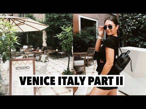 VENICE ITALY: exploring the city, gondola rides + burano island