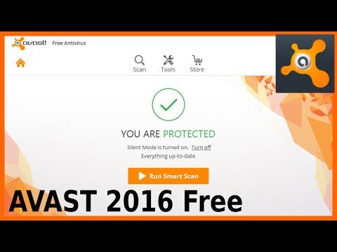 AVAST 2016 Free Antivirus Install Advanced Settings and Scan