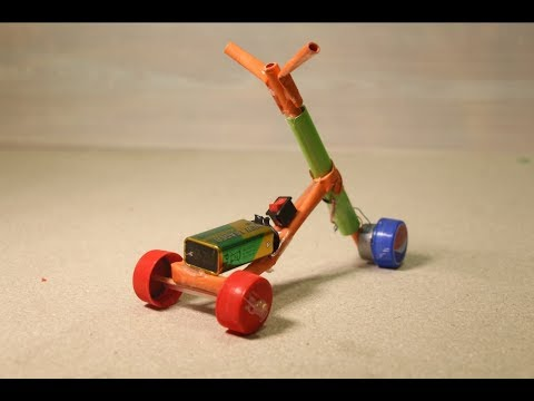 How To Make A Paper Electric Bike - Recycle Kids Toys