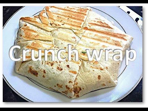 Homemade CrunchWrap (Taco Bell Style) Mexican recipe by RinkusRasoi