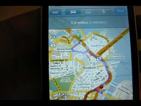 iPhone: 2.2 firmware update street view