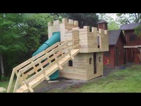 Castle Playhouse Plans & Blueprints