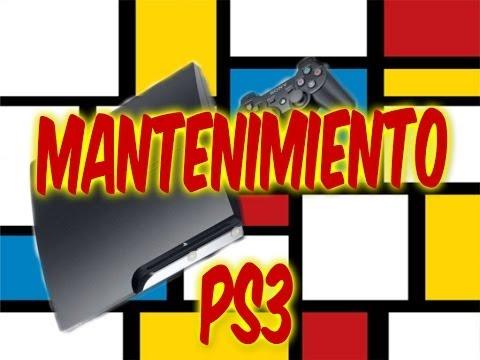 MANTENIMIENTO PS3 TUTORIAL