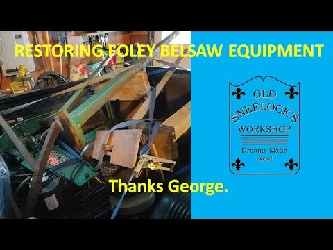 A PACKAGE FROM GEORGE ~ FOLEY BELSAW EQUIPMENT AND ACCESSORIES