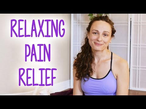 Fast Pain Relief at Home ♥  Stretch with Melissa, Neck Pain, Tense Shoulders, Back Pain
