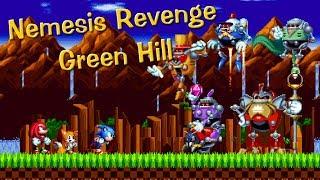 Sonic Mania : Nemesis Revenge ! #1 Green Hill Zone. (Sprite animation)