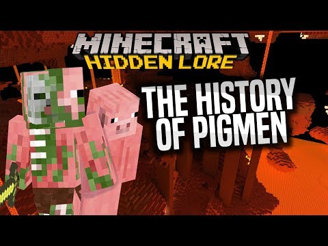 The hidden lore of Zombie Pigmen - Overthinking Minecraft, my theory