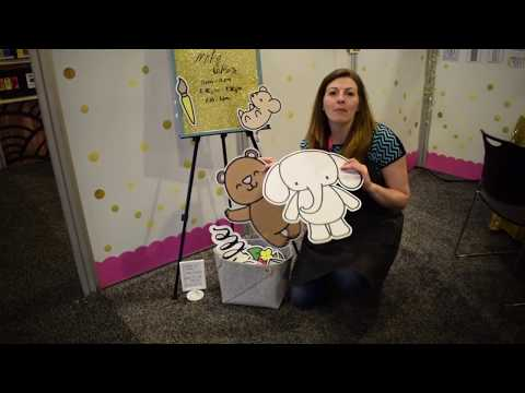 Heffy Doodle Creativation Booth Tour