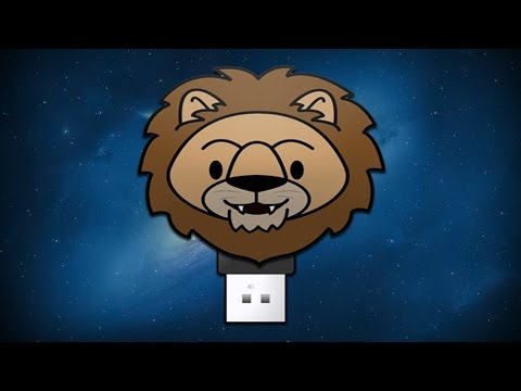 How to Create a Bootable Mac OS X Lion USB Flash Drive