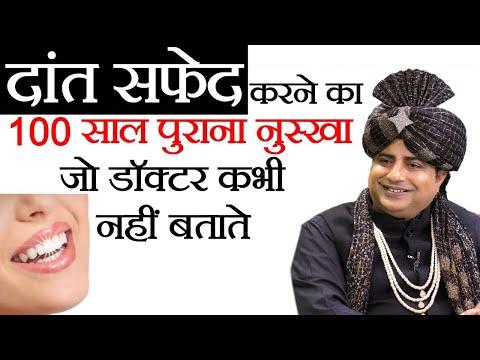 How to Clean Teeth at Home | Sanyasi Ayurveda