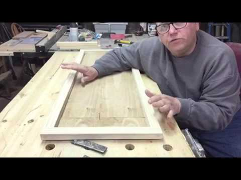 Picture frame for a large puzzle by Bob Lee's woodshop