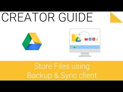 Store Files using a desktop sync client - 1.2 - Google Drive Series