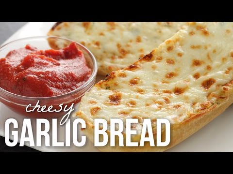 How to Make Cheesy Garlic Bread!! Classic Garlic Bread Recipe